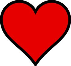 heart stencil plain heart clip art vector clip art online rh pinterest com valentine clip art free downloads valentine clip art free images star wars