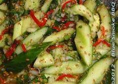 Komkommersalade uit Thailand