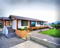 Korean style house with modern touch