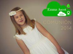Emma Ascot kids. Vestidos y complementos de Comunión y ceremonia, camisetas para niños y niñas.: Fotos Colección Vestidos de Comunión