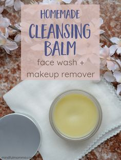 You Will Love This Homemade DIY Cleansing Balm For Healthy Skin diy makeup remover 5 minute crafts - Makeup Diy Crafts Homemade Makeup Brush Cleaner, Diy Cosmetic, Make Up Dupes, Easy Diy Makeup, Diy Makeup Remover, Makeup Removers, How To Clean Makeup Brushes, Diy Beauty, Beauty Tips