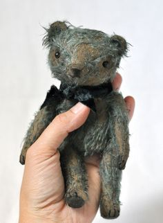 scruffy well-loved teddy #bear