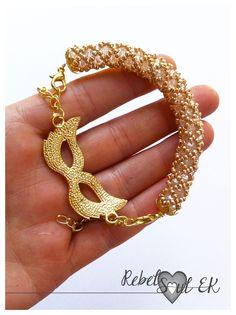 RebelSoulEK bracelet venice carnala markgolden age crystal new year eve beadwork beadweave