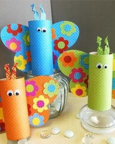 Celebrate spring with kids with easy spring crafts for kids. Smple kids crafts for toddlers, preschoolers to create spring arts and crafts Kids Crafts, Spring Crafts For Kids, Crafts For Kids To Make, Toddler Crafts, Preschool Crafts, Projects For Kids, Craft Projects, Arts And Crafts, Craft Ideas