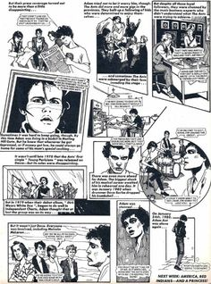Dangerous Minds | The Fantastic Comic Book Adventures of Adam Ant, 1982