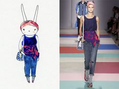 Fifi Lapin wears Marc by Marc Jacobs
