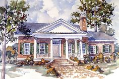 Looking for the best house plans? Check out the Dixie Cottage plan from Southern Living.
