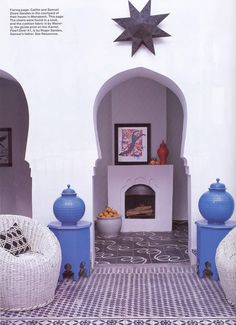 an 18th century Moroccan home revamped