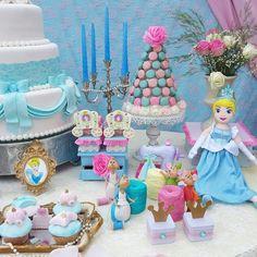 Festa com tema Cinderela - Foto: Kara's Party Idea