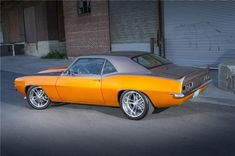 1969 CHEVROLET CAMARO CUSTOM - Barrett-Jackson Auction Company - World's Greatest Collector Car Auctions