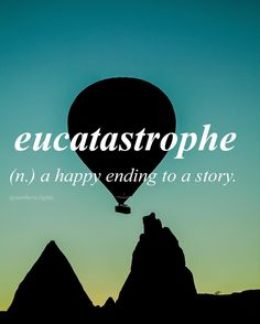 //eu-cat-a-stro-phe// -- I have many reasons to have a eucatastrophe, not just one in particular. Unusual Words, Weird Words, Rare Words, Unique Words, Powerful Words, Cool Words, Fancy Words, Words To Use, Pretty Words
