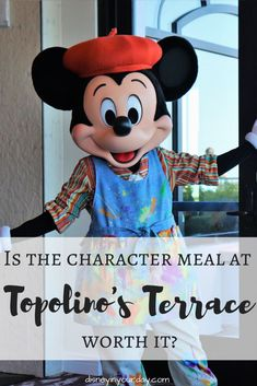 Topolino's Terrace character breakfast - is it worth it? A look at the food, character interactions and experiences, and more! Topolino's Terrace is located at the Riviera Resort in Walt Disney World and has a character meal for breakfast and is a regular table service restaurant for dinner. Disney On A Budget, Disney World Vacation Planning, Disney Tips, Trip Planning, Walt Disney, Disney Drinks, Disney Snacks, Disney World Characters, Disney World Food