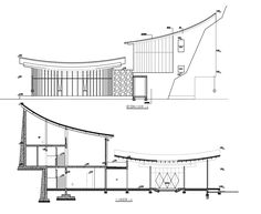 Image 34 of 42 from gallery of Shuangxi Academy / Duoxiangjie Architectural Design. Structure analysis of reception hall Concept Models Architecture, Library Architecture, Bamboo Architecture, Architecture Sketchbook, Chinese Architecture, Architecture Plan, Roof Design, House Design, Asian House