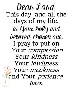 Bible Quotes About Patience with printable prayer