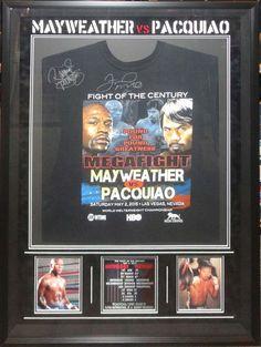 Pacquiao/Mayweather Signed T-Shirt - Antiquities