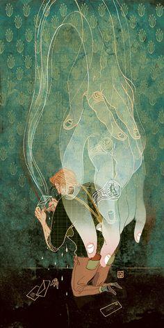 Victo Ngai's Action-Packed Illustrations | Hi-Fructose Magazine