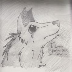 """This is the original drawing of Flame, except, I didn't add the """"flames"""" to her ears. XD By @Sassinator16"""