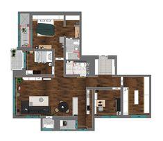 신반포팰리스 42평 아파트인테리어_우드향기가 번지는 집 [옐로플라스틱, 옐로우플라스틱, yellowplastic] : 네이버 블로그 Bedroom Art, Walk In Closet, Dining Area, Floor Plans, Construction, Studio, Storage, Inspiration, Inspire