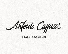 Logo Design: Cursive