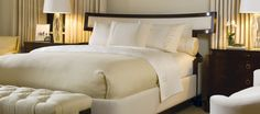 Brand: Baker Furniture Model: Luxe Bed #designselect #bed #baker