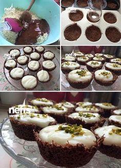 Muhallebili Çikolatalı Çıtır Kadayıf Tarifi nasıl yapılır? 8.195 kişinin defterindeki bu tarifin resimli anlatımı ve deneyenlerin fotoğrafları burada. Yazar: Serife Güzel