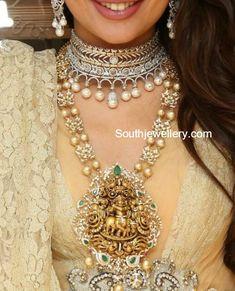 South Sea Pearls Mala with Lord Krishna Nakshi Pendant by Kalasha Fine Jewels, Hyderabad Indian Jewellery Design, Indian Jewelry, Jewellery Designs, Necklace Designs, Mughal Jewelry, South Indian Jewellery, Egyptian Jewelry, Jewelry Patterns, Antique Jewelry