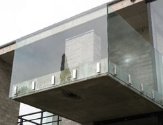Glass balustrades, frameless glass suitable for indoor or outdoor, customised to your design