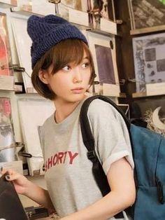 Beautiful Japanese Girl, Japanese Beauty, Japanese Fashion, Asian Beauty, Japanese Gf, Girl With Hat, The Girl Who, Kawaii, Tsubasa Honda