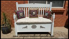 How to make a bench from old Headboards