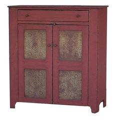 Primitive kitchen furniture pie safe country cupboard farmhouse Early American reproduction by JosephSpinaleFurn on Etsy https://www.etsy.com/listing/14267760/primitive-kitchen-furniture-pie-safe