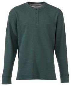 RedHead Thermal Henley Shirts for Men - Spruce - XL