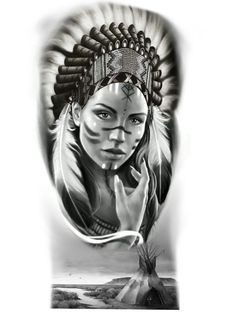 Chicano Love, Statue Tattoo, Native American Design, Fire Art, Best Sleeve Tattoos, Girl Sketch, Anubis, Horror Art, Big Tattoo