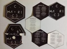 Innovative CD Packaging by Julius Bueno, via Behance