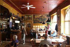 Restaurant Lehen in Stuttgart Germany a book reading