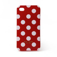 Protective Unique Spot Case for iPhone 4G (Red)
