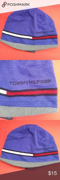 TOMMY HILFIGER. UNSEX BEANIE 100% AUTHENTIC  TOMMY HILFIGER UNISEX BEANIE ADULT UNISEX CONDITION : EXCELLENT. WORN SEVERAL TIMES REASONABLE OFFER IS WELCOME TOMMY HILFIGER Accessories