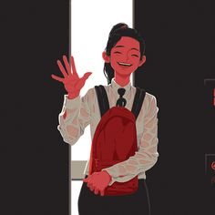 The way home from school on Behance