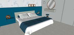 3D impressie interieurontwerp slaapkamer Hazerswoude-dorp by Flow Design