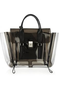 To know more about Phillip Lim Phillip Lim , visit Sumally, a social network that gathers together all the wanted things in the world! Featuring over other Phillip Lim items too! Tods Bag, Outfit Essentials, Transparent Bag, Vide Poche, Thing 1, Trends, Black Tote, 3.1 Phillip Lim, Fashion Bags