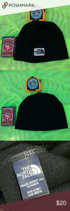 """THE NORTH FACE BLACK BEANIE ORGINAL, """"THE NORTH FACE"""" BLACK BEANIE, ♡♡♡GREAT PRE-LOVED CONDITION ♡♡♡ THE NORTH FACE Accessories Hats"""