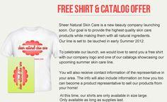 Free T-Shirt #free #free stuff