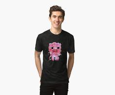 Splatter Pig - Minecraft inspired