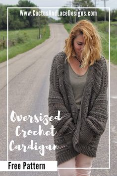 This is a beginner crochet pattern for a spring cardigan~ The Haven Cardi Free Pattern Beginner Crochet, Crochet Patterns For Beginners, Easy Crochet, Crochet Ideas, Free Crochet, Knit Crochet, Crochet Sweaters, Crochet Blankets, Yarn Projects