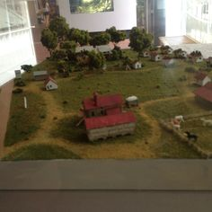 Check out the diorama of Frogmore Plantation at the #Natchez Visitor Center. Www.visitnatchez.org