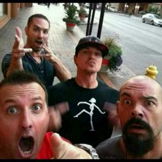 Nick Groff, Zak Bagans, Billy Tolley, Aaron Goodwin