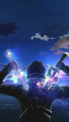 Sword Art Online Poster by leaguofy Sword Art Online Poster, Sword Art Online Wallpaper, Wallpapers Geeks, Animes Wallpapers, Kirito Sword, Sword Art Online Kirito, Kirito Kirigaya, Kirito Asuna, Sao Anime