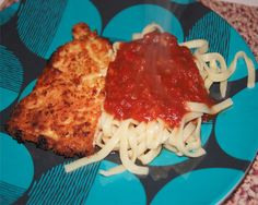 Parmesan Crusted Chicken, 5 points plus