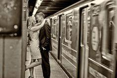 romantic NYC West Village engagement session   photos by http://www.artoflove.com/