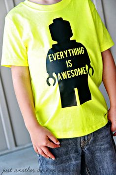 Just Another Day in Paradise: Everything Is Awesome T-Shirt