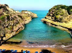 canal d Amour Sidari, Corfu Beach List, Macedonia, Greece Travel, Greek Islands, Albania, Amazing Photography, Places To See, Travel Destinations, Beautiful Places
